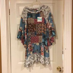 💕  NWT Umgee USA Tunic/Dress 💕